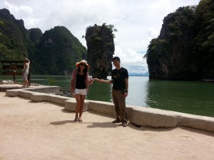 Visit at James Bond Island during a Private Khao Lak Phang Nga Bay Tour