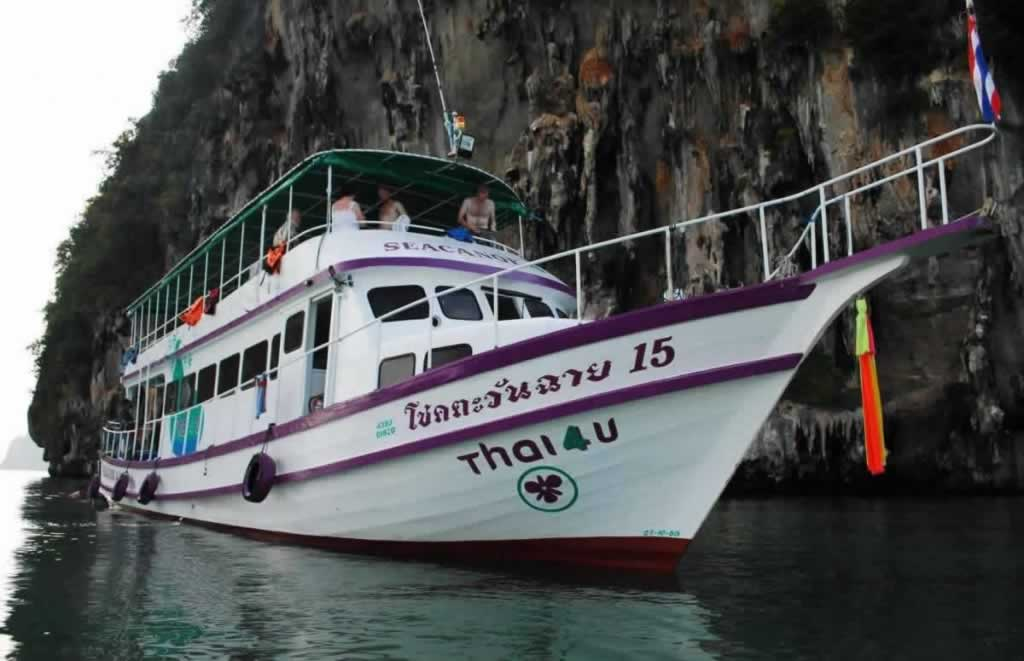 Sea Canoe Phang Nga - The Boat