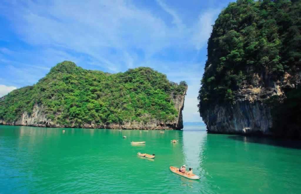 Sea Canoe Phang Nga - areal