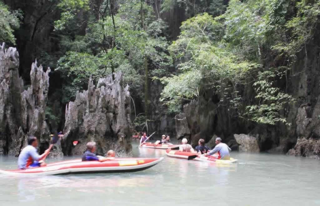 Sea Canoe Phang Nga - canoeing