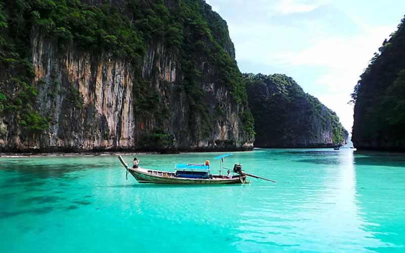 Phi Phi Islands Khao Lak Tours - Piley Cove Lagoon