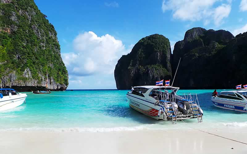 Early Bird Phi Phi Speedboat Tour  Daily Easy Day Khao