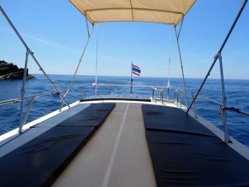 Scuba Diving Khao Lak - Sun Deck