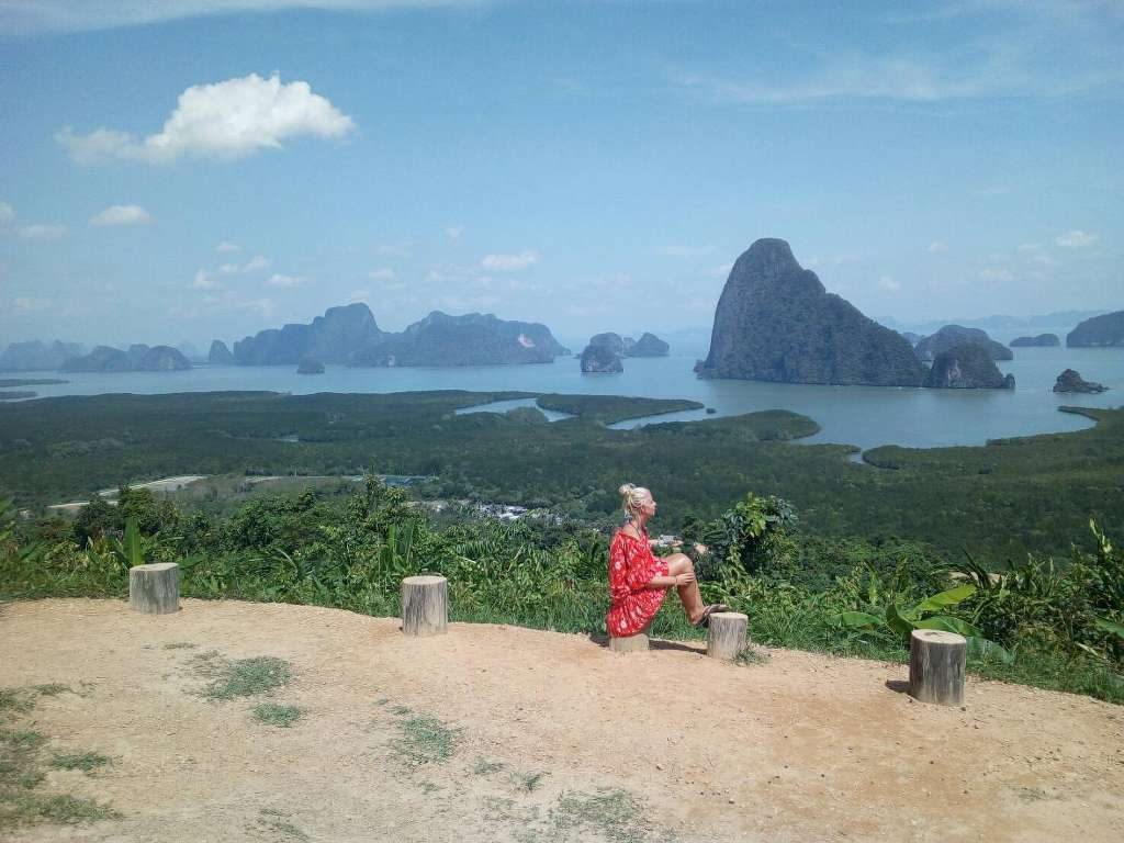 Phang Nga Bay Caves & Sea Canoe - Samet Nangshe View Point