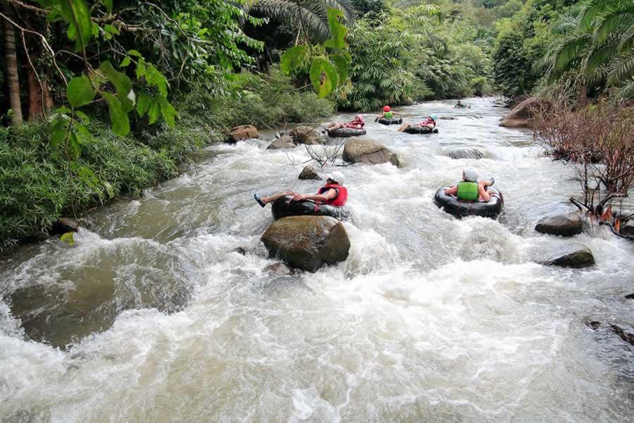 Tubing Fun Kapong