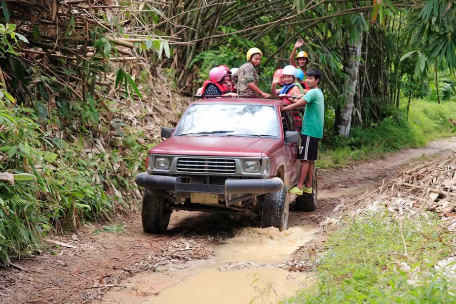 4x4 Trip in Kapong
