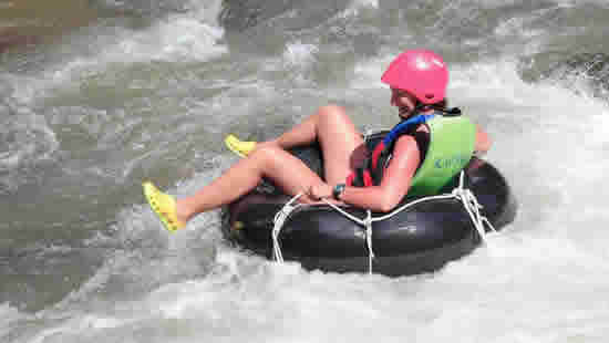 Kapong Tubing Adventure