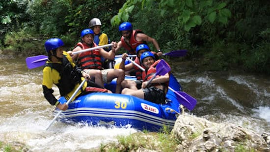 White Water Rafting Khao Lak